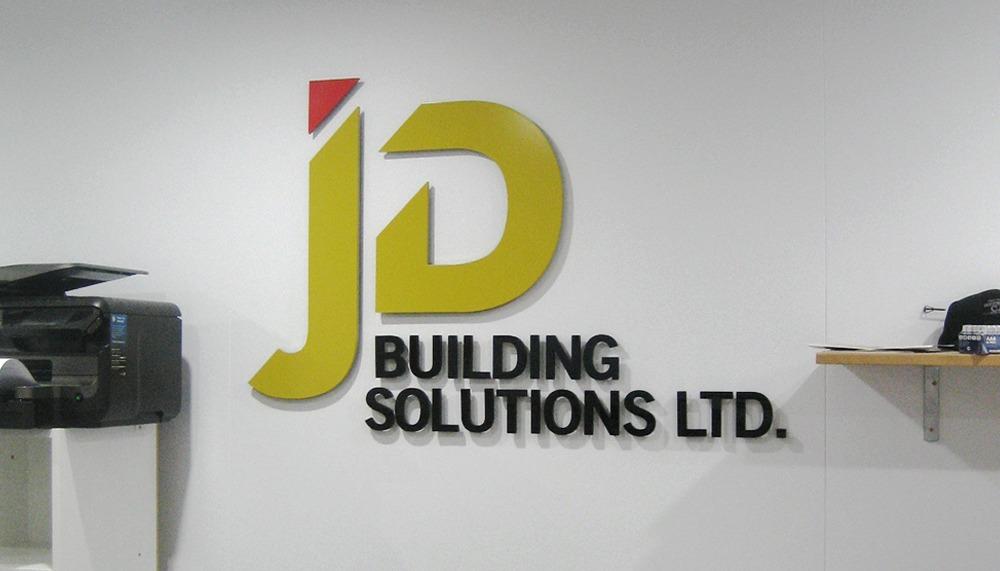JD logo sign