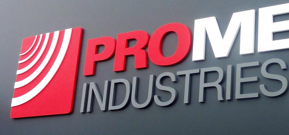 Pro metal industries signage