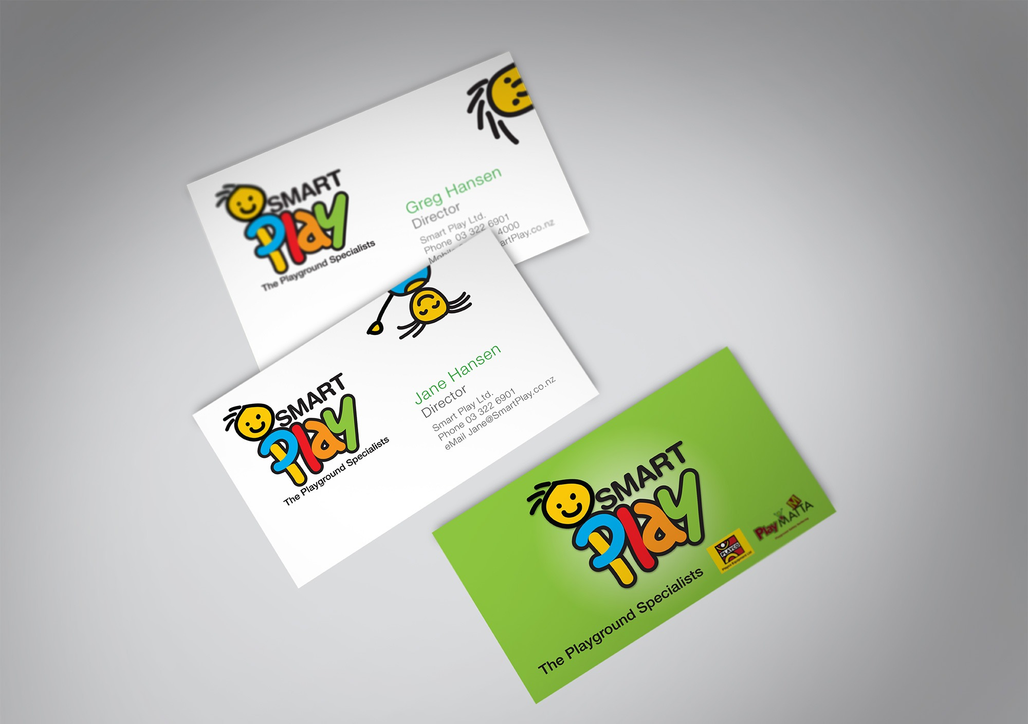 kids play business cards