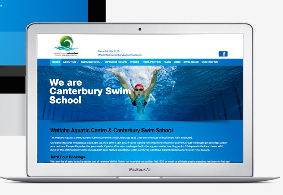Canterbury Swim School Online
