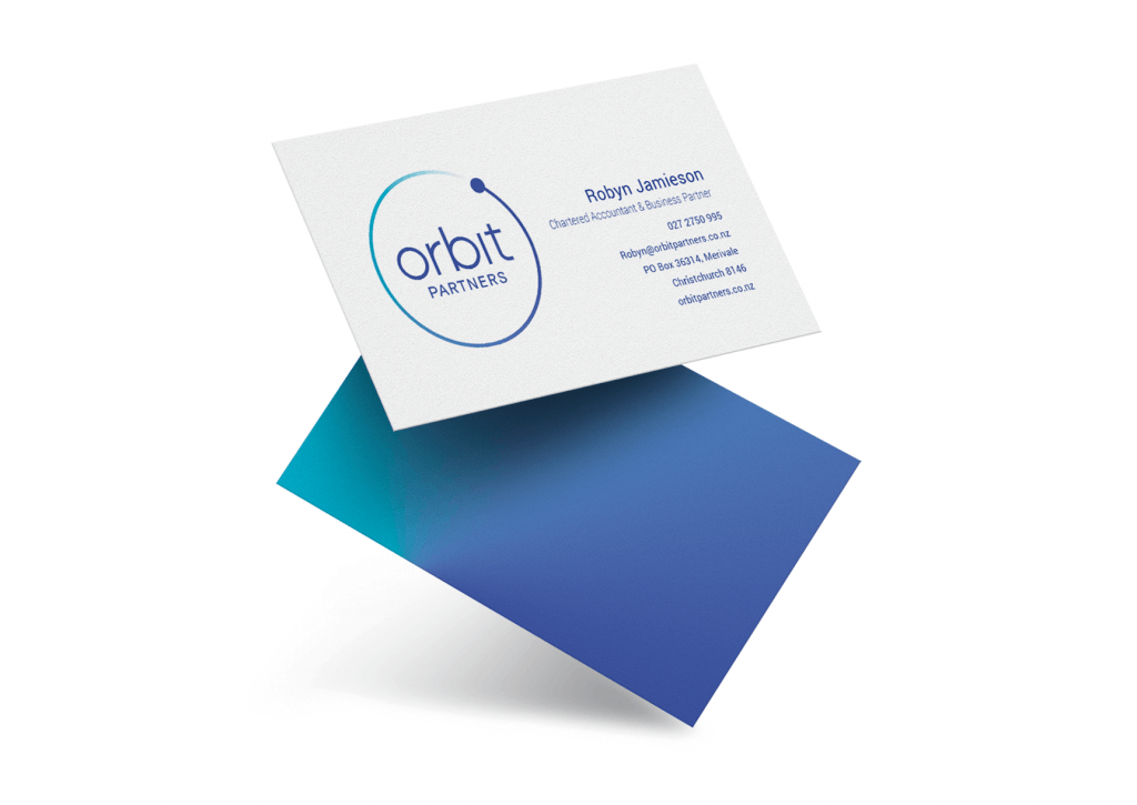 Business card design Christchurch