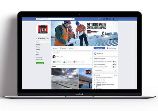 DCM Roofing Social Media