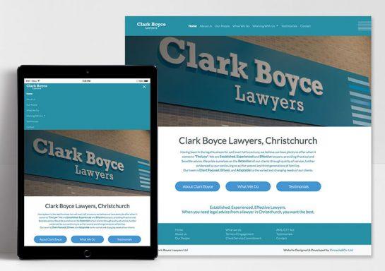 Clark Boyce Lawyers Website