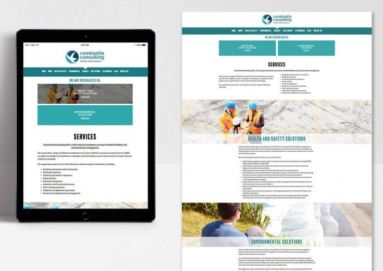 Constantia Consulting H&S Website