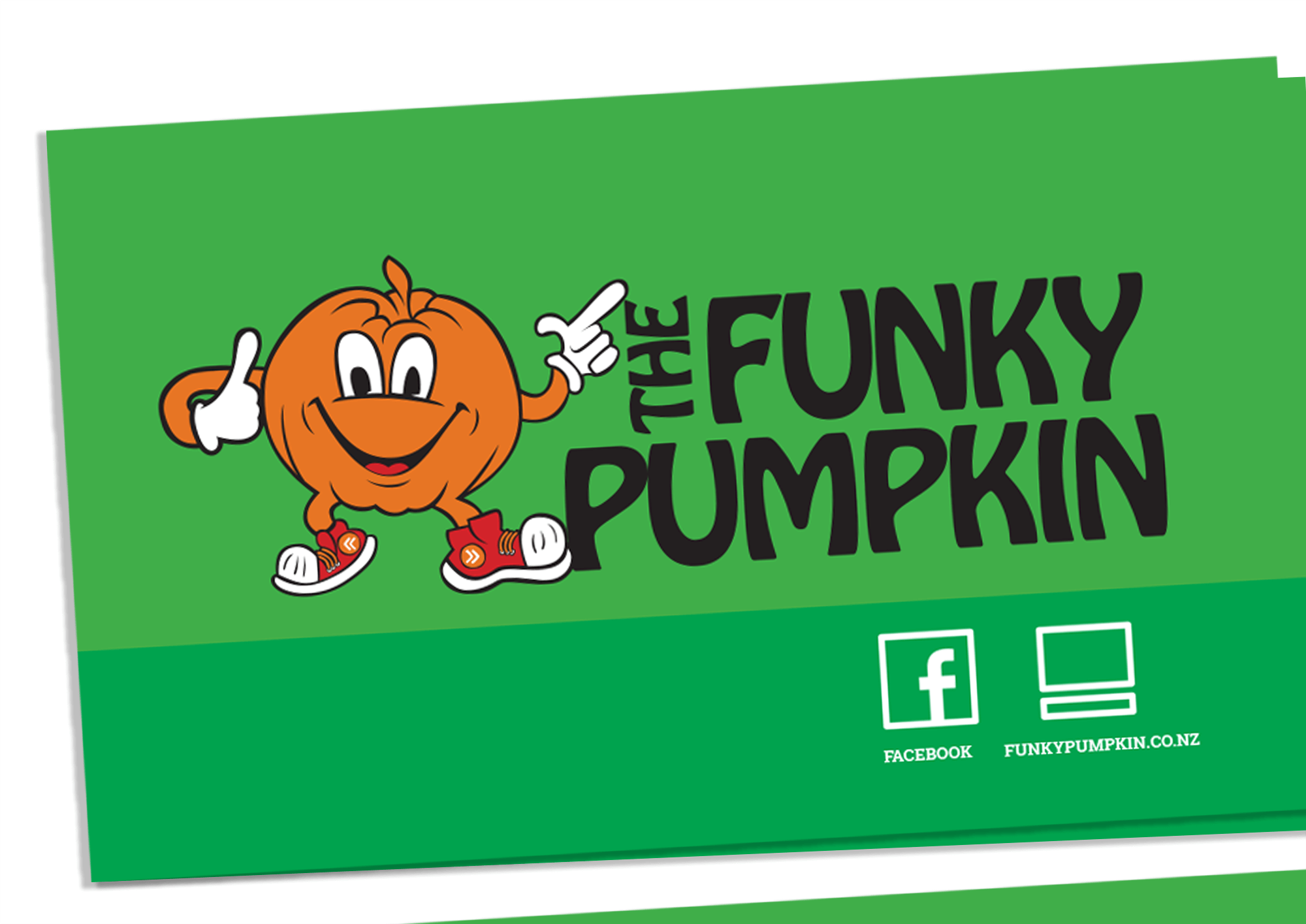 The Funky Pumpkin Business Card