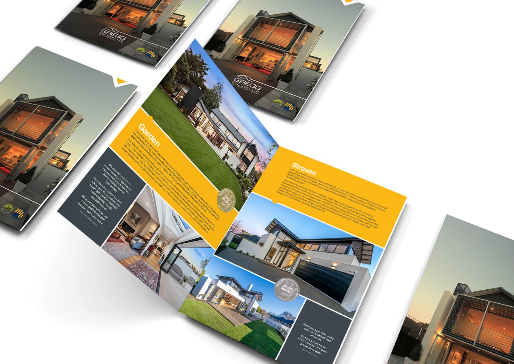 Gregg Builders Brochure - designed by Pinnacle&Co.