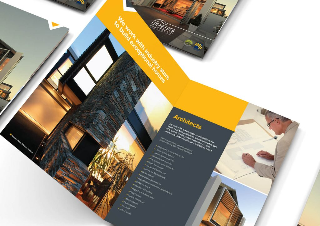 Gregg Builders Brochure - designed by Pinnacle&Co.