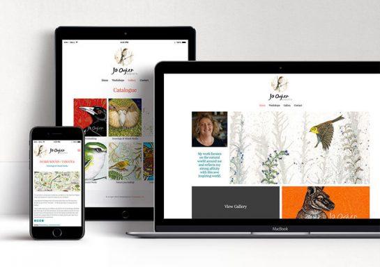 Jo Ogier Website