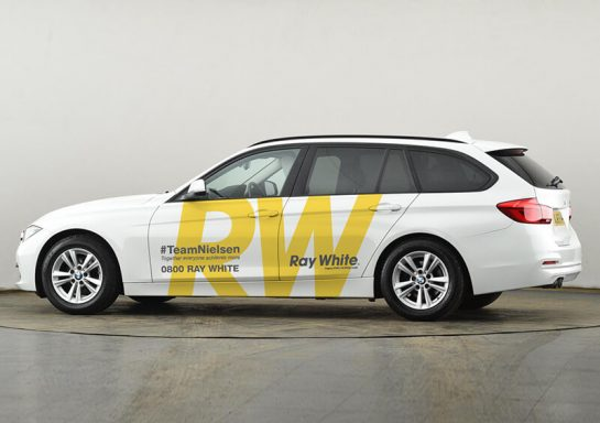 Ray White Vehicle Signage