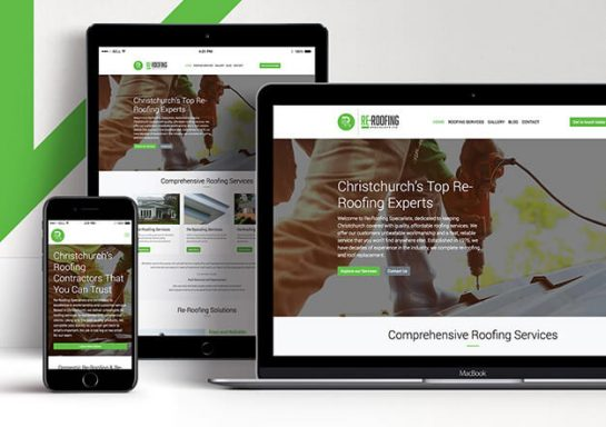 Re-Roofing Specialists Website