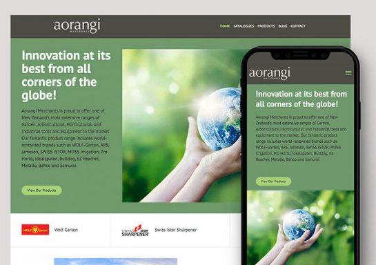 Aorangi Website