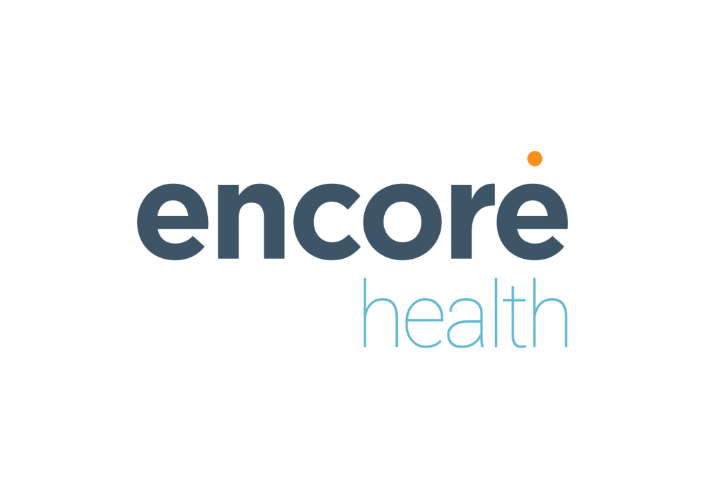 Encore Health logo design