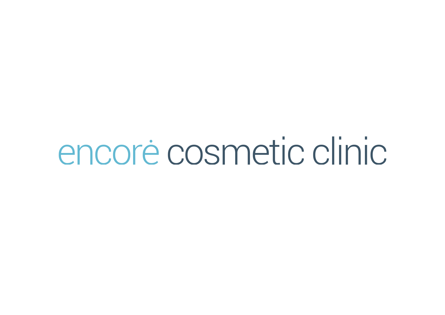 Encore Health logo design