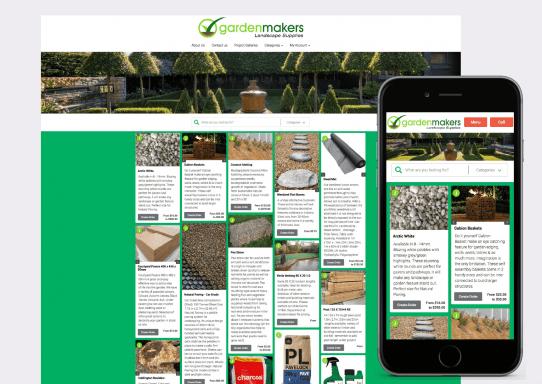 Garden Makers Website