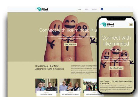 Kiwi Connect Website