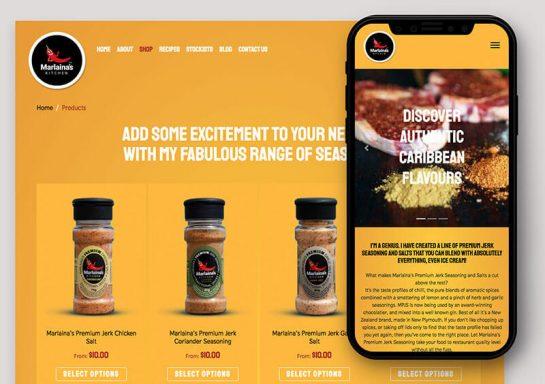 Marlaina's Kitchen Website