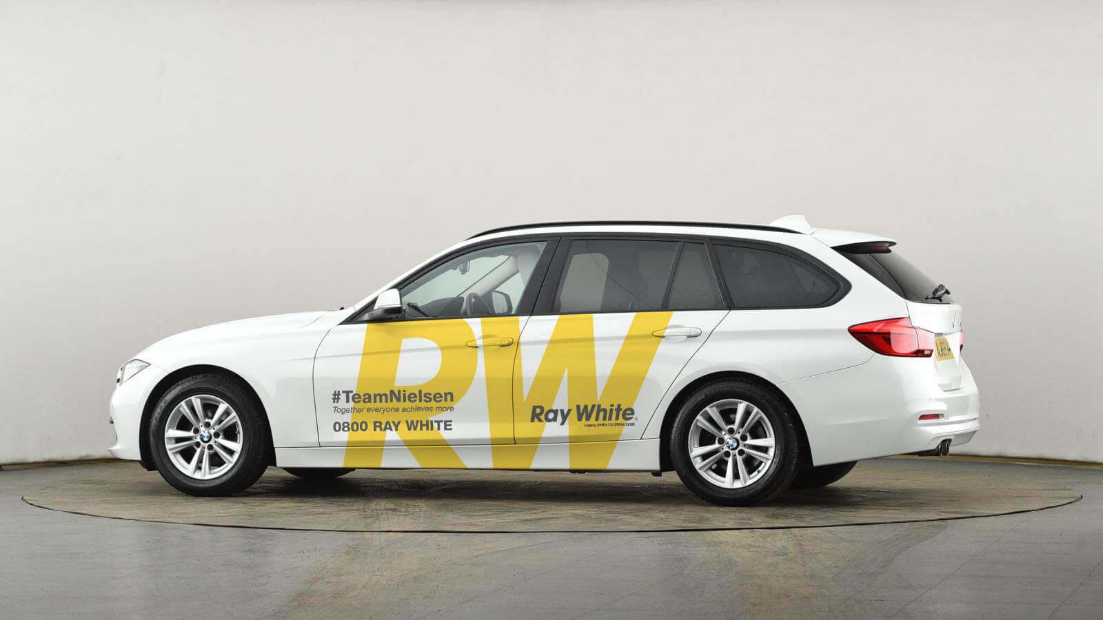 Ray White Vehicle Signage Design
