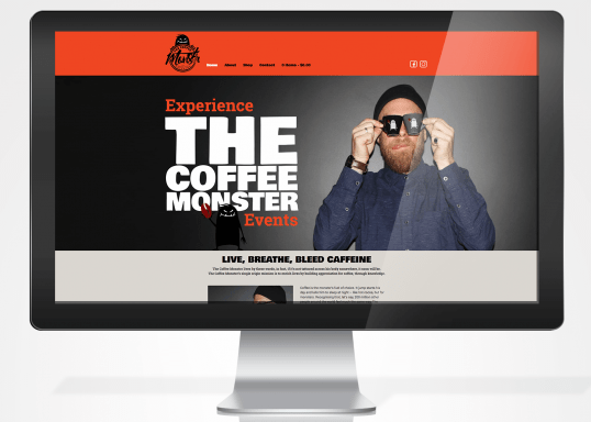 The Coffee Monster Website