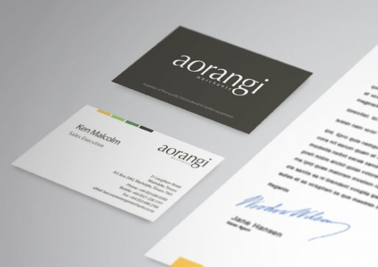 Aorangi Business Card