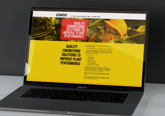 CGI Industrial Website