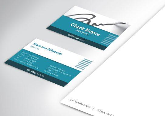 Clark Boyce Business Card