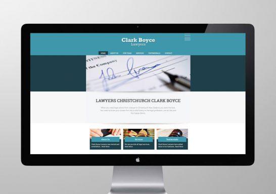 Clark Boyce Website