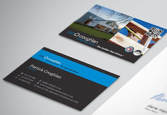 Coughlan Construction Branding