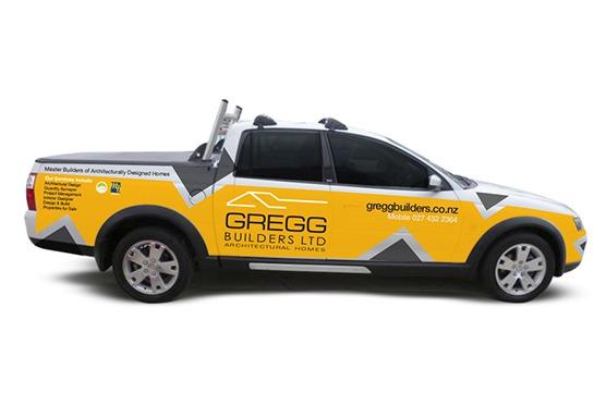 Gregg Builders Signage