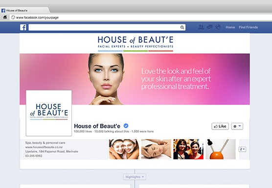 House of Beauté Social Media