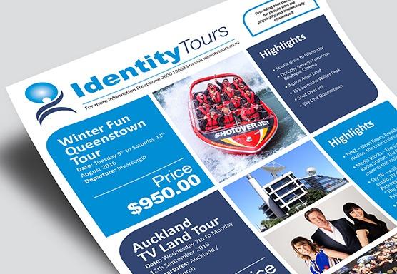 Identity Tours Branding