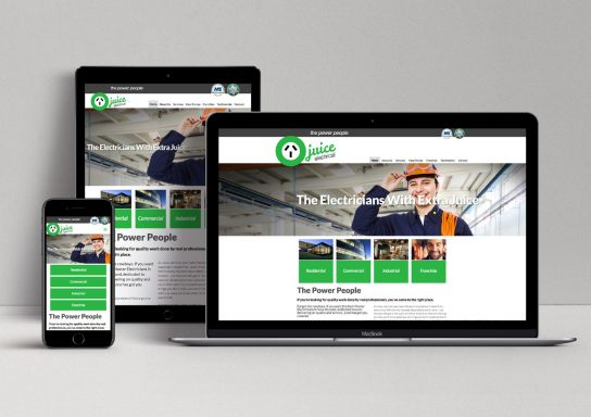 Juice Electrical Website