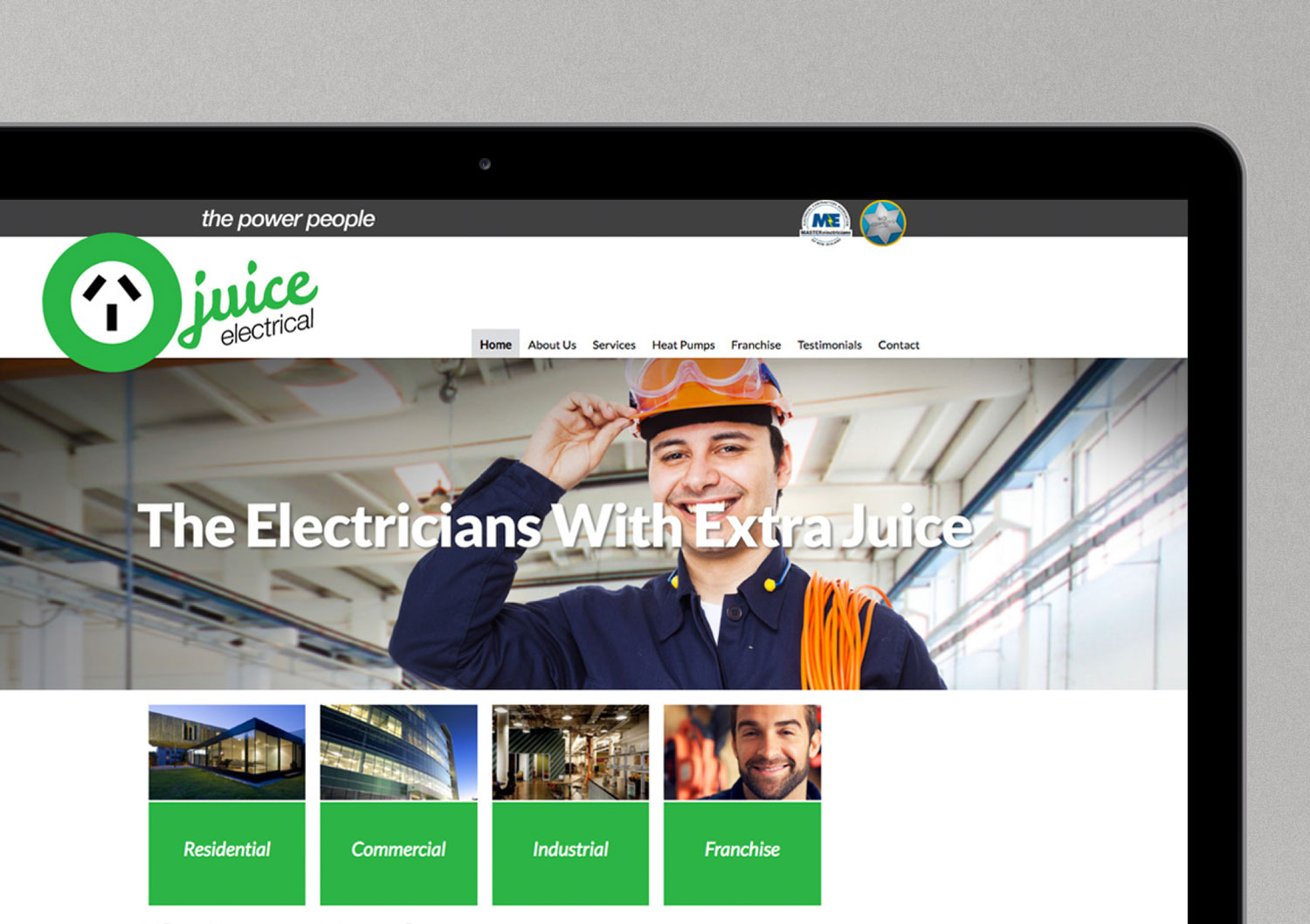 Juice electrical website