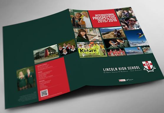 Lincoln High School Branding