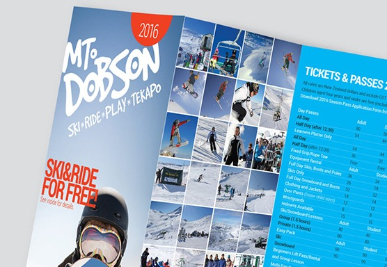 Mt Dobson Branding