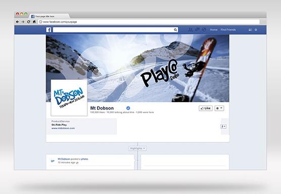 Mt Dobson Social Media