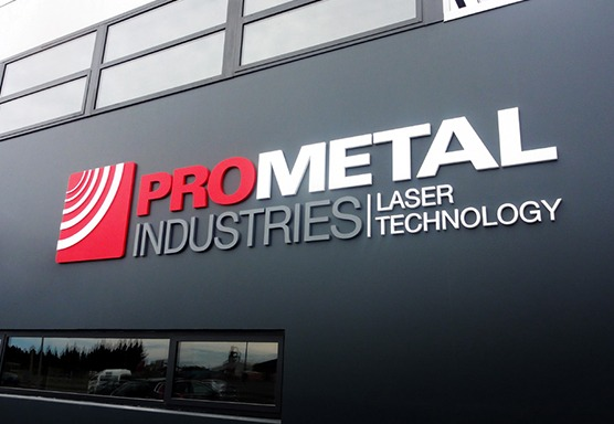 ProMetal Industries Signage