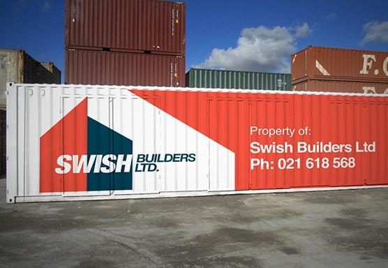 Swish Builders Signage